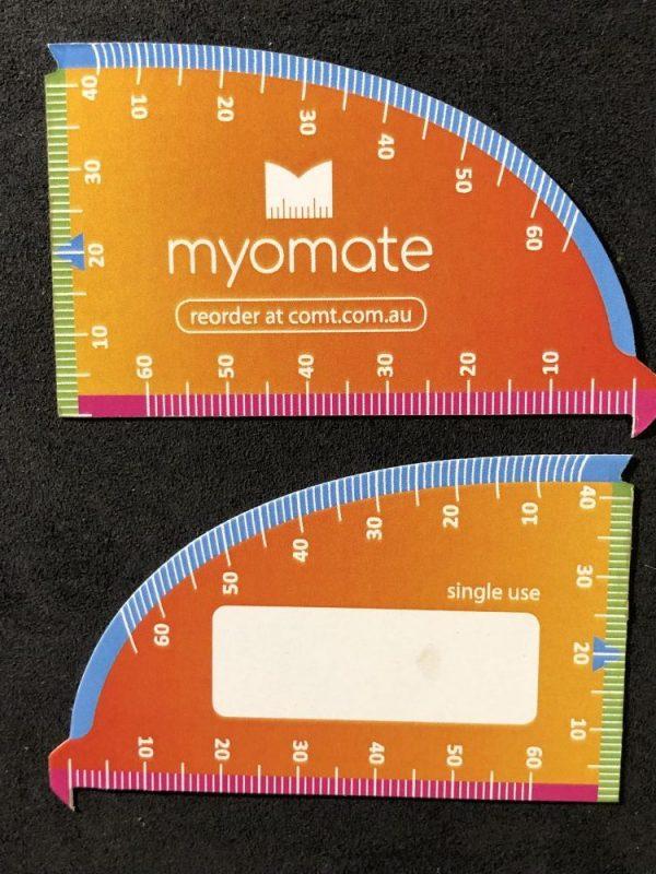 MyoMate Economy (single use) Card – free shipping within Australia